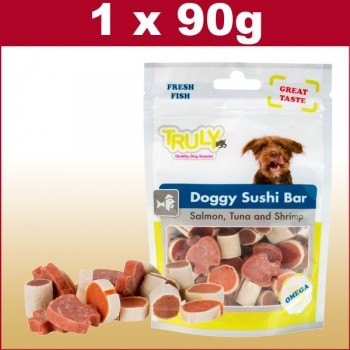 Hundesnack Doggy Suhsi Bar. 90 gramm