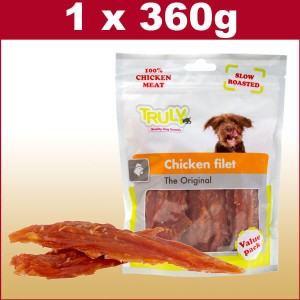 Hunde Snack Chicken Filet Snack - 360 Gramm - Big Pack